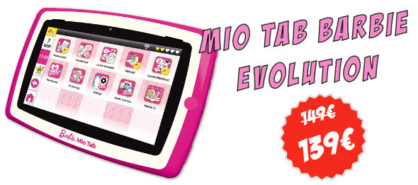 Tablet Barbie Evolution