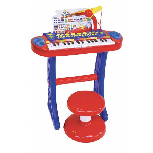 Tastiera elettronica 31 tasti con microfono e sgabello