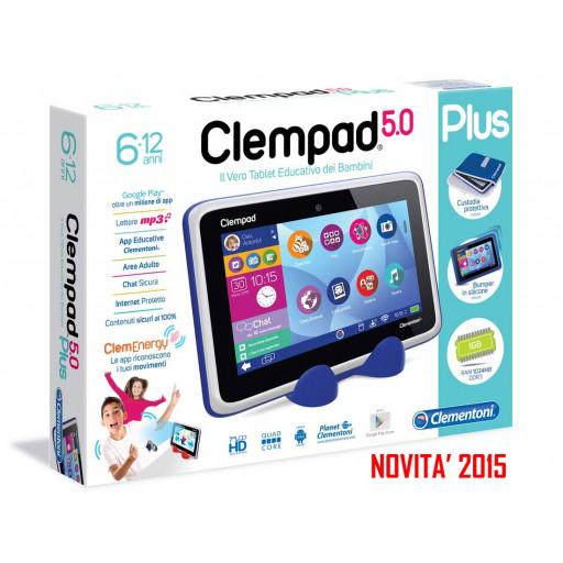 Clempad 5.0 hd 6-12 anni + custodia