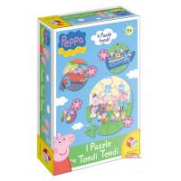 puzzle tondi peppa pig