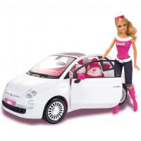 Barbie e la sua Fiat 500