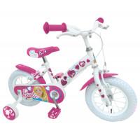 """Bicicletta Barbie bianca 12"""""""