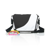 Borsa fasciatoio fashion white-black