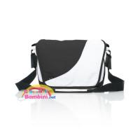 Borsa fasciatoio fashion white-black