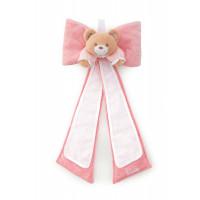 Fiocco orsetto rosa