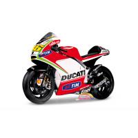 Moto gp Ducati v Rossi 1:18