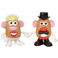 Mr and Mrs Potato in Love