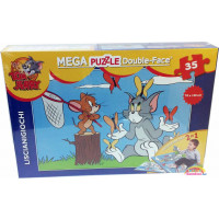 Puzzle Gigante Double Face Tom and Jerry