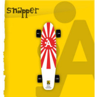Skateboard Snapper Electric Bicolor