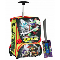 Zaino trolley deluxe turtles 2014